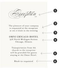 wedding reception card wedding stationery guide reception card wording samples banter