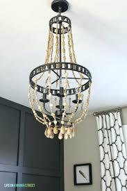 homemade crystal chandelier wood bead chandelier to make it diy crystal chandelier centerpiece diy crystal