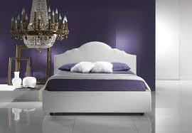 Modern Purple Bedroom Modern Purple And White Wall Interior Paint Designs Bedroom That