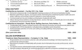 Nursing Assistant Resume Sample New Grad Nurse Cover Letter