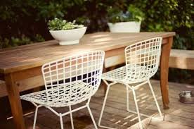 wire outdoor chairs outdoor patio