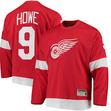 Red Wings Wings Red Jersey Vintage bdbacfcefdfe|On-line Auction Gems