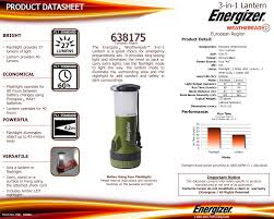 Energizer Led Night Light How To Change Batteries 3 In 1 Lantern Energizer Technical Information Manualzz Com