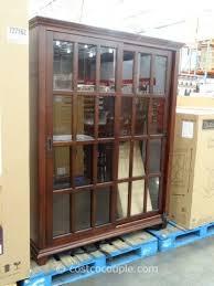 pulaski chelsea sliding door bookcase