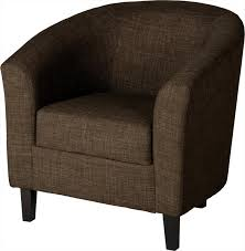 bbs146 tempo tub chair in dark brown fabric
