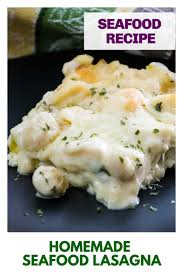 Homemade Seafood Lasagna Casserole ...