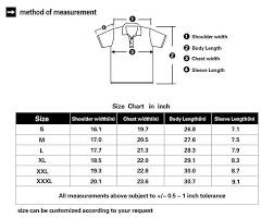 Polo T Shirts Size Chart Arts Arts