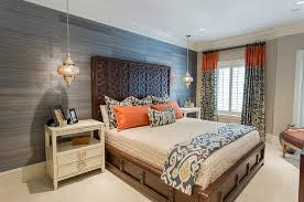 View in gallery Gorgeous blend of Moroccan elements with sleek,  contemporary bedroom design. by Lovelace Interiors