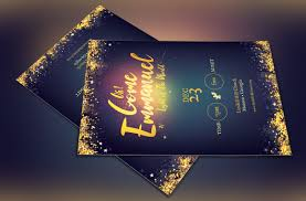 emmanuel christmas flyer template on behance emmanuel christmas flyer template is for events during the christmas season great for christmas cantatas plays pageants banquets dinner dance etc