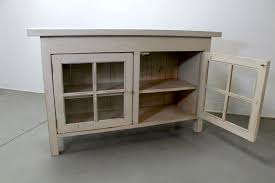reclaimed wood media cabinet with glass doors small media cabinet with doors