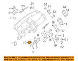 nissan oem 07 09 sentra instrument panel dash fuse box door image is loading nissan oem 07 09 sentra instrument panel dash
