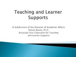 Teaching And Learner Support University Of Arkansas For
