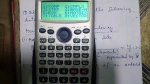 casio fx 991es calculator tutorial 3 statistics part 1 basics