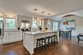 kitchens with islands. Plain Kitchens Daytonpaintedwhiteshakercabinetsoa5725 For Kitchens With Islands