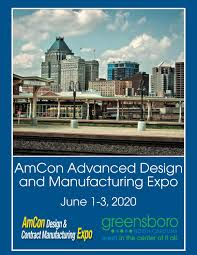 Amcon Advanced Design Manufacturing Show Cleveland Amcon Advanced Design Contract Manufacturing Expo 2020