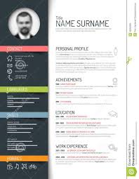 curriculum vitae template vector service resume curriculum vitae template vector resume template on behance vector mini st cv resume template dark color