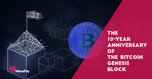 Mined on january the 3rd with the times famous headline. Menapay Today Is The 10 Year Anniversary Of The Bitcoin Genesis Block It Was The Very First Block Ever Mined Happy Birthday Bitcoin Blockchain Genesisblock Crypto Cryptocurrency Facebook
