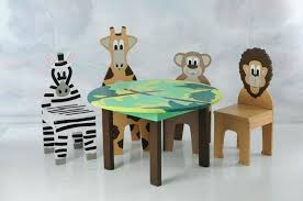 modern kid table and chairs kids wood set with chair jungle theme furniture of america bedroom sets