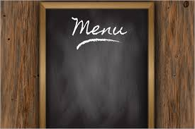 blank menu template free download 30 free menu templates free pdf word design templates
