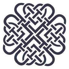 Nordic Pattern Beauteous Celtic Nordic Pattern Background Vector Download