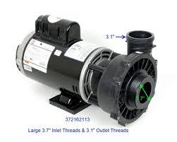 waterway pumps spa hot tub pumps pool pumps circulation pumps 3721621 13 waterway spa pump 2 spd 230v 12a 4h 3 7