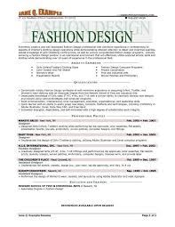 Best Fashion Resume Examples Do You Ever Think To Get Career In Delectable Fashion Resume Examples