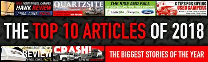 Top 10 Truck Camper Articles of 2018 - Truck Camper Magazine