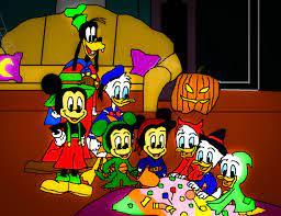 The Scariest Story Ever A Mickey chuột Halloween Spooktacular - những nhân  vật của Walt Disney người hâm mộ Art (40779511) - fanpop