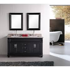 60 double sink bathroom vanities. Design Element Hudson 60\ 60 Double Sink Bathroom Vanities