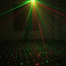 Best Price 52e2 Alien Remote Red Green Star Dots Dj Party
