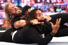 Edge Hands Jimmy Uso a Painful Lesson ...