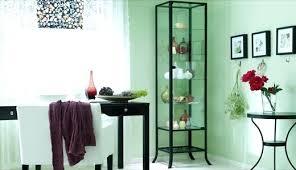 p2238132 display cabinet ikea glass door cabinet black clear glass glass display cabinet ikea ireland