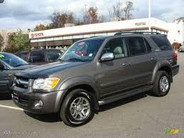 2007 Phantom Gray Pearl Toyota Sequoia Limited 4WD #21381385 ...