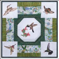 Quik Quilts: Five Hummingbird Sampler Embroidery Project by ... & Quik Quilts: Five Hummingbird Sampler Embroidery Project by Vermillion  Stitchery Adamdwight.com