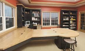 custom desks for home office. Ohio Hardwood Home Office Cabinets Schlabach Wood Design Within Custom Furniture Idea 3 Desks For