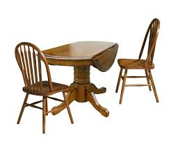 three piece dining set. Three Piece Drop Leaf Table And Chair Dining Set