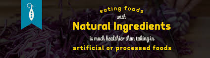 natural ings healthier than processed