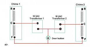 doorbell diagram wire How To Wire A Doorbell Diagram 2 doorbells 1 transformer pleeeeeeeeeeeeeeezzzze help how to wire a doorbell transformer diagram
