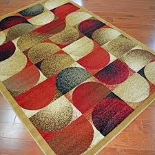 delectably city moons color block area rug x rugs multi collection