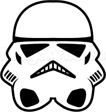19 stormtrooper helmet coloring pages