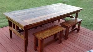 Large Farmhouse Kitchen Table Rustic Kitchen Table Diy Make Your Own Farmhouse Table The Easy
