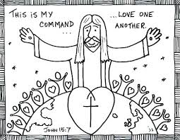 Jesus And Children Coloring Page Love Coloring Sheets For Children