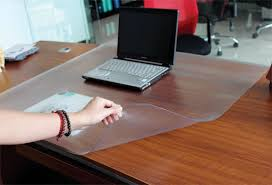 clear office desk. Clear Plastic Desk Pad Prjs Transpa 65x45 Cm Ikea Regarding Within Protector Ideas Office S