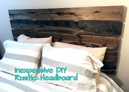 inexpensive rustic headboard king ideas for under easy diy and