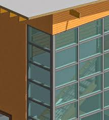 but there are some times when we want to have a clean corner glass join in our curtain walls as soon as we unpin and delete the corner mullions
