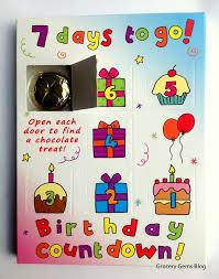 Calendar Countdown Days Grocery Gems 7 Days To Go Chocolate Countdown Calendar Review