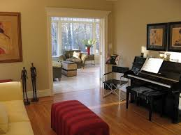 Yellow Paint For Living Room Yellow Paint With Black Piano Front Room Pinterest Nice