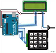 arduino calculator circuit diagram