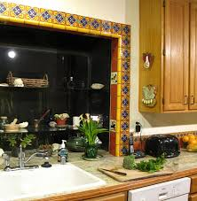 mexican tile around a window mexican home decor projects gallery