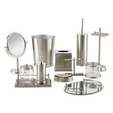 Gray Bathroom Accessories For Bed Bath Jcpenney